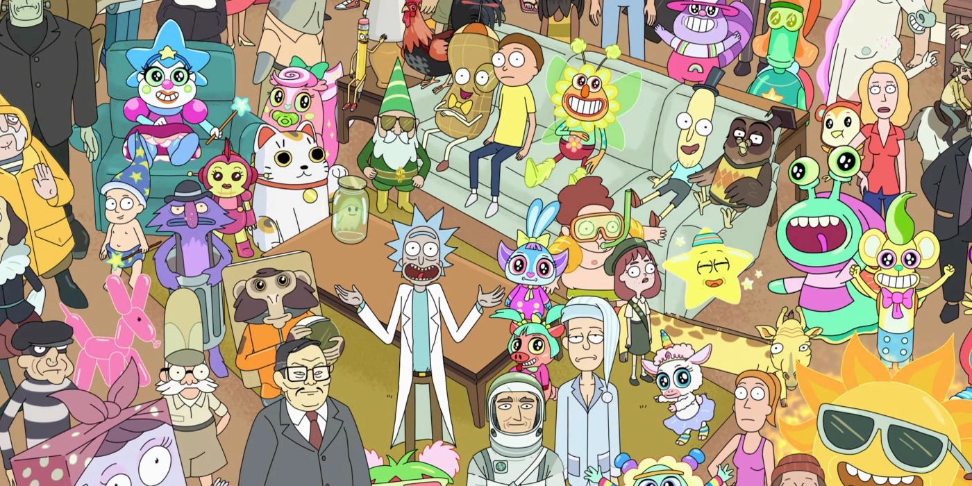 Rick and morty parazita epizód