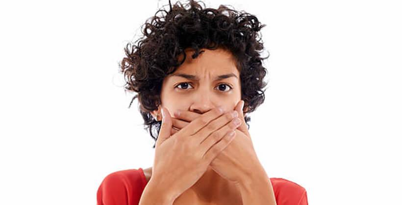 ha a lehelet folyton rossz szagú